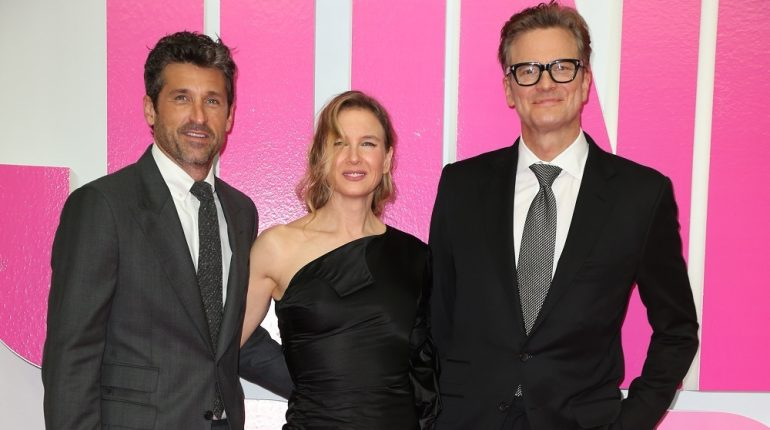 Patrick Dempsey, Renée Zellweger, Colin Firth DEUTSCHLANDPREMIERE des Films BRIDGET JONES' BABY im Zoo Palast in Berlin am 07.09.2016 / German premiere of BRIDGET JONES' S BABY held at Zoo Palast in Berlin on 09 / 07 / 2016 (c.) PEOPLEFOTOGRAF MARKO GREITSCHUS